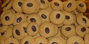 Petits biscuits au café