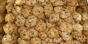 Cookies au chocolat rapé