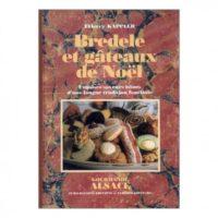 Livre Bredele et Gâteaux de Noël de Thierry Kappler