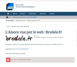 France Bleu Alsace / Bredele.fr