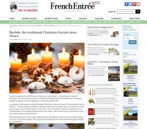 French Entrée Bredele