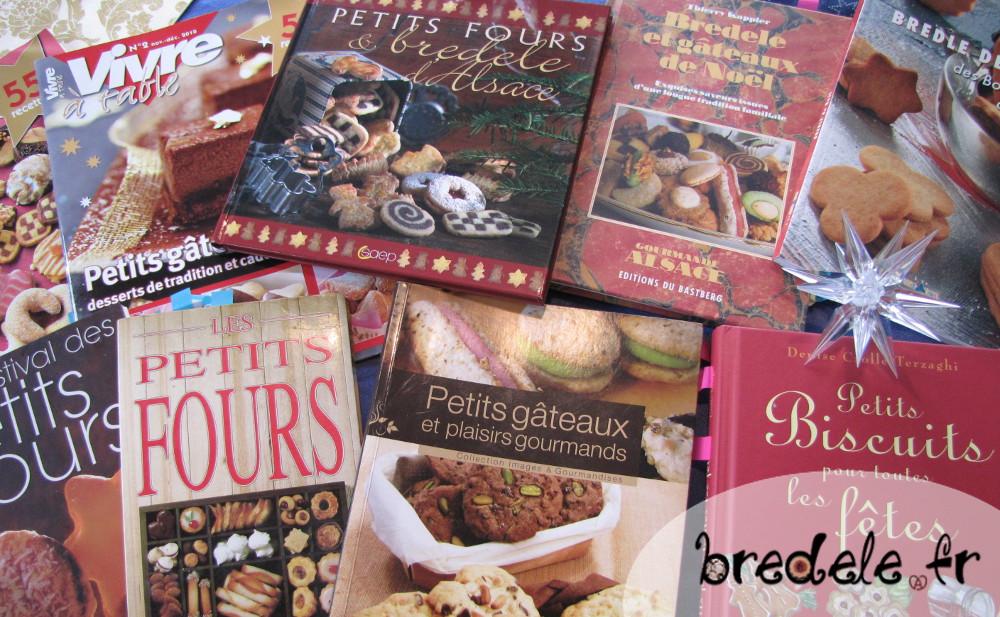 Les livres de recettes de Bredele Alsaciens