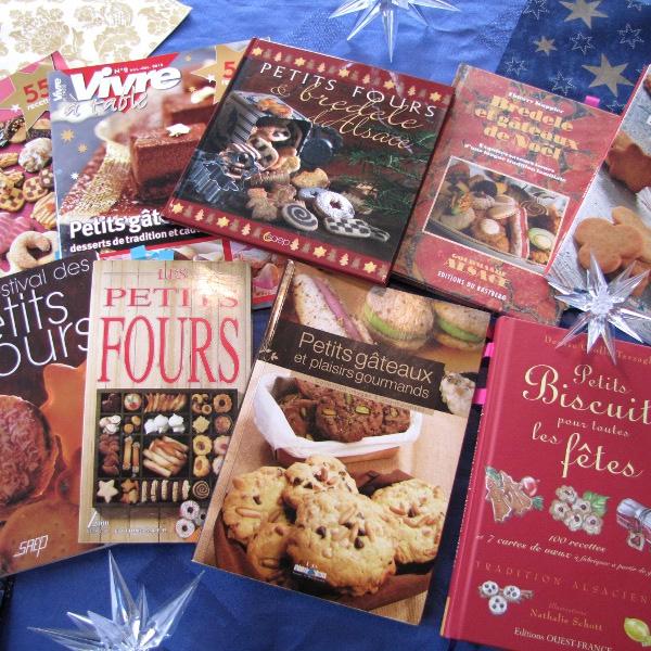 Livres de recettes sur les Bredele