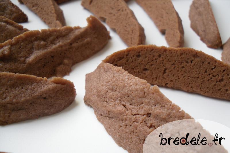préparation des biscuits dents de loup