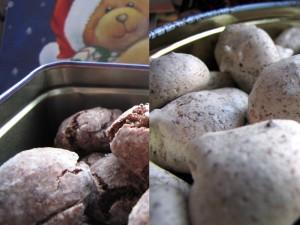 Biscuit de Noël au chocolat