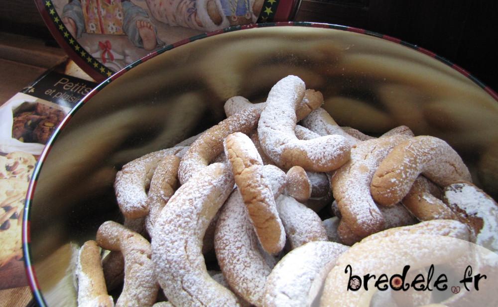 Vanille Kipferl, recette des croissants à la vanille