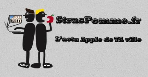 StrasPomme, toute l'actu Apple de Strasbourg