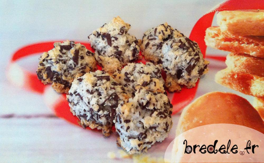 macarons noix de coco chocolat recette. Black Bedroom Furniture Sets. Home Design Ideas