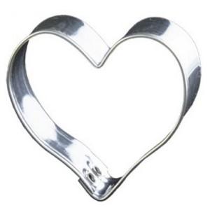 Emporte-pièce Coeur en fer blanc