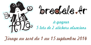 tirage au sort, 5 lots de 2 stickers Hop'Alsace