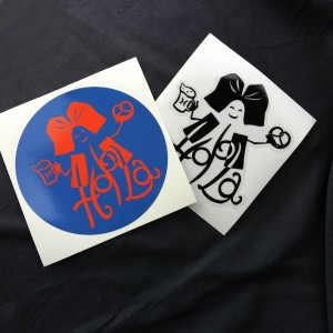 irage au sort, 5 lots de 2 stickers Hop'Alsace