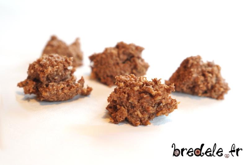 Rochers Noix de coco Chocolat
