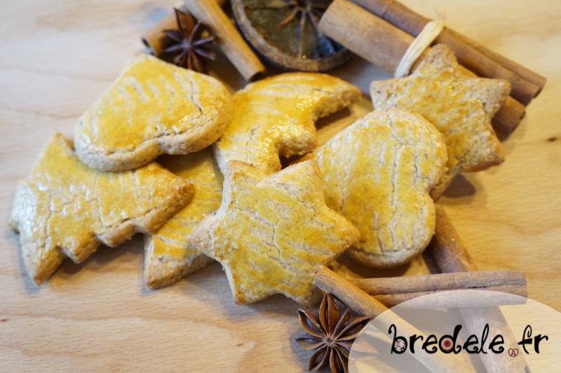 Sablés Souabes, biscuits de Noël