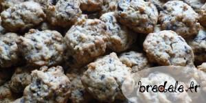Cookies chocolat corn-flakes