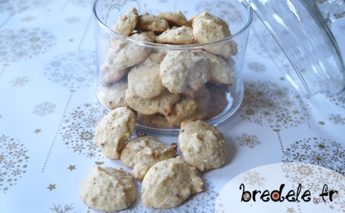 Macarons noisette pistache