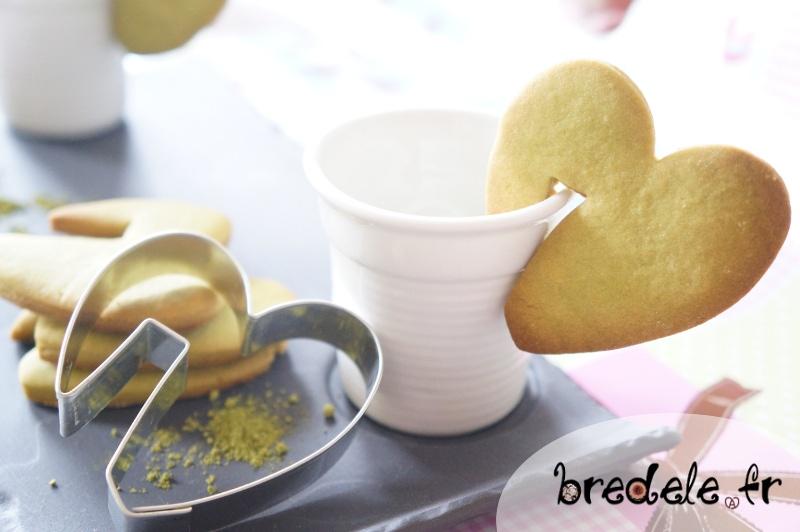 Biscuits au thé Matcha