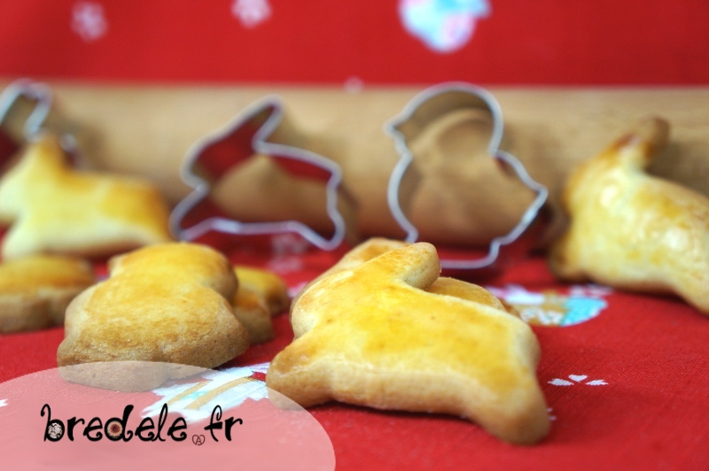 Biscuits beurre demi-sel pour Pâques