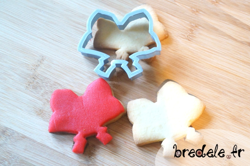 biscuits Alsace forme coiffe alsacienne