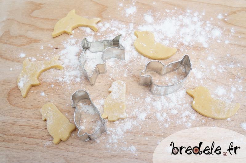Préparation des Sablés Beurre de Cacahuète