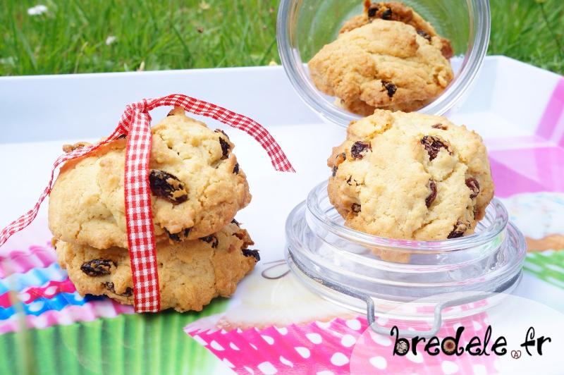 Cookies raisins secs