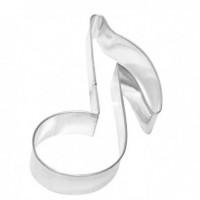 Emporte-pièce en fer blanc note de musique