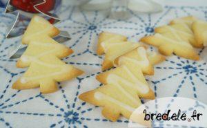 Bredele sapins au citron