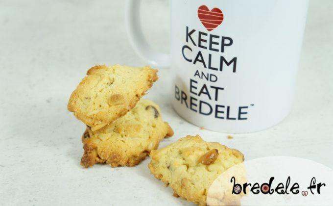 Cookies aux Pignons de Pin et Chocolats
