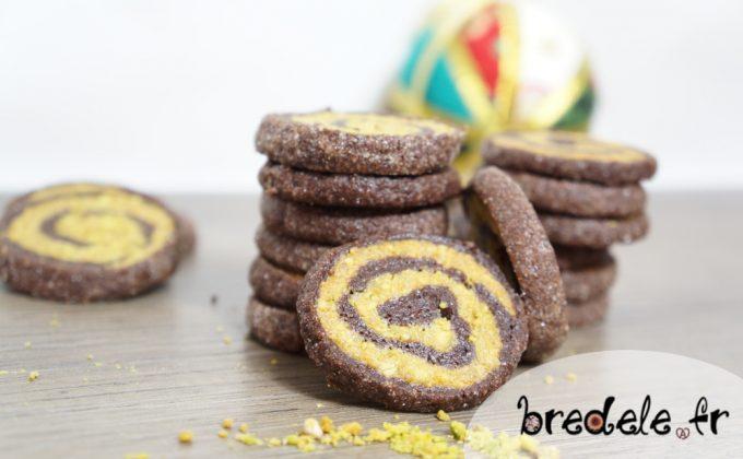 Spirales Chocolat Pistache
