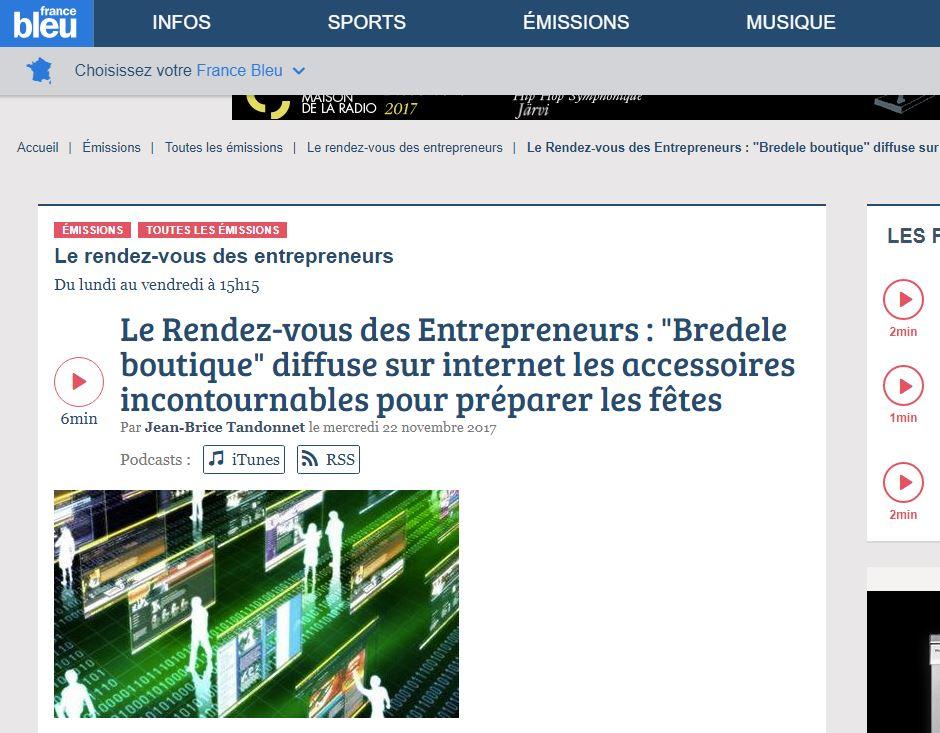Rendez-vous des entrepreneurs France Bleu