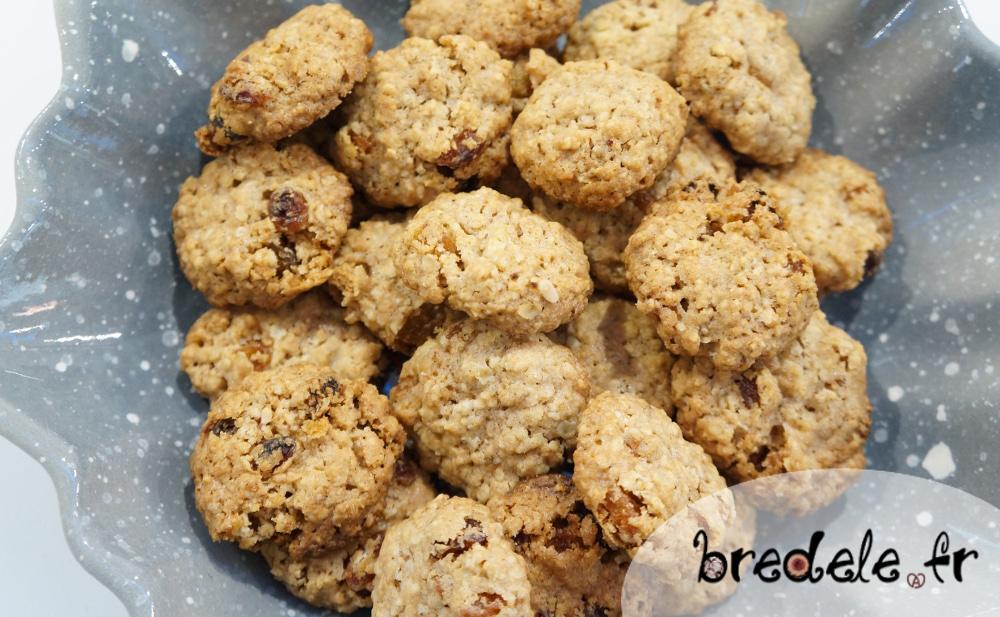 Biscuits Flocons d'Avoine Raisins