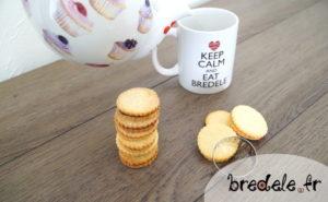 Biscuits fourrés au chocolat