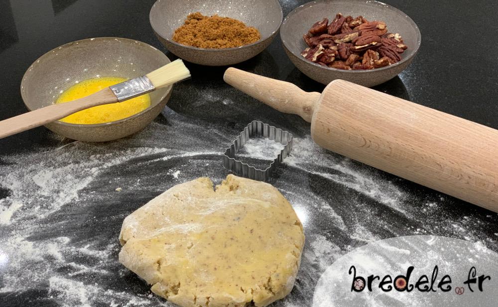 Biscuits noix de pécan et sirop d'érable
