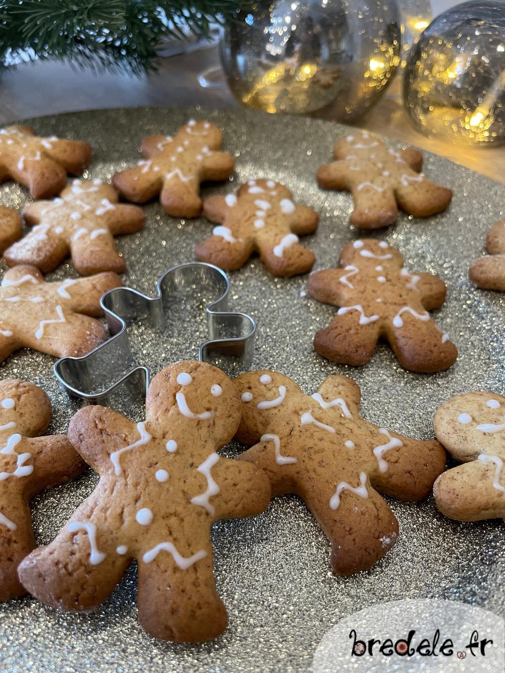 Biscuits de Noël aux Epices